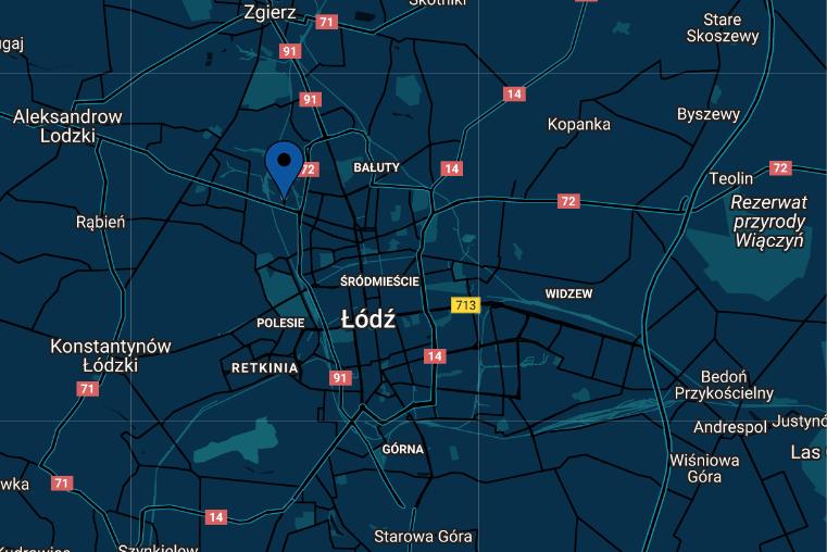 Mapa dojazdu do Maszyny Szwalnicze Szwalmasz